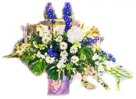 Rouwarrangement 'Grande Floriosi'