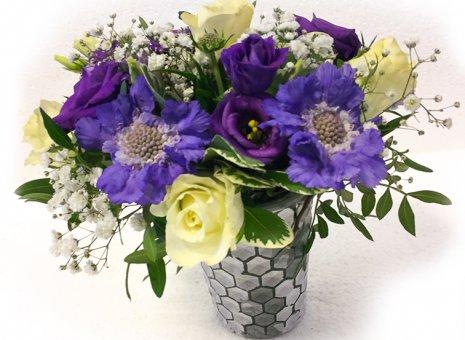 Vaasje met bloemen 'Boffer'