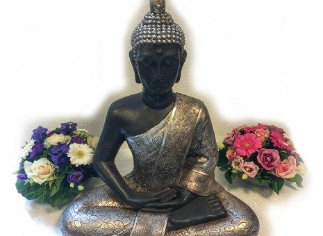(Thai) Buddha mediterend Vrede/Harmonie XL