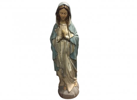 Maria met lichtblauwe mantel