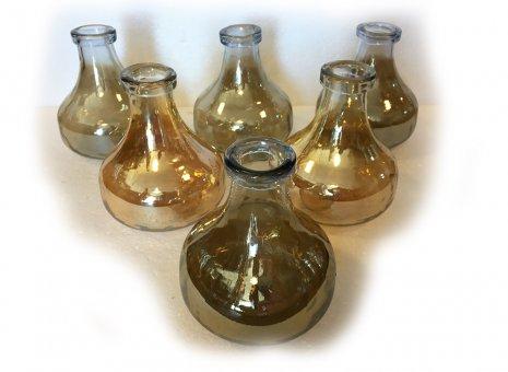 Parelmoer glazen vaas