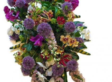 Rouwarrangement 'Orchidee Paradise XXL'